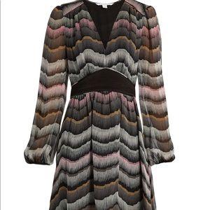 Dvf Lizbeth silk dress size 8